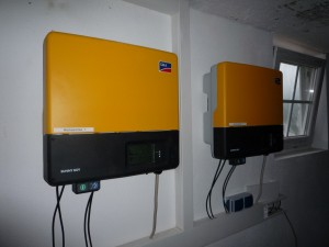 Inverters for the PV's