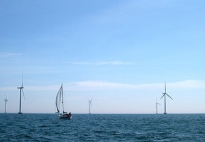 No turbines in Nantucket Sound yet - this is Denmark